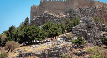 Rodos, zamek joannitów w Lindos